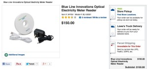 Lowes Iris Electricity Meter unavailable for purchase.