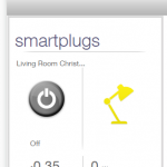 This hidden Appliance widget can monitor a single SmartPlug.