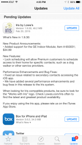 Iris for iOS 1.9.30 Release Notes