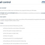 myLowes E-Mail and SMS Control