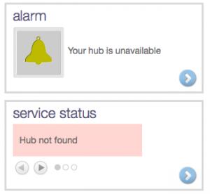 Hub Not Found