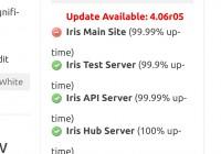 Iris Outage