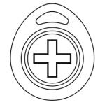 Closeup of the new Iris Care Pendant.
