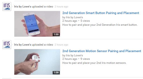 Second Generation Iris Videos Online Iris Users