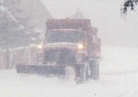 Snow Plow Blizzard