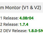 Checks V1 and V2 platform versions.